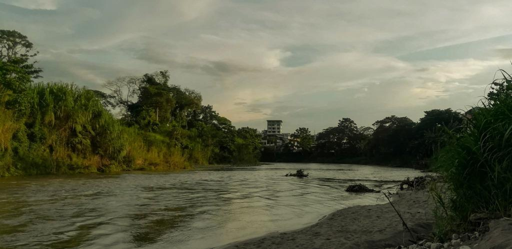 Tena Rainforest City in Ecuador